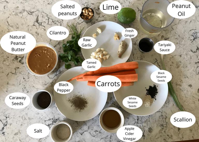 Ca-noodle Ingredients