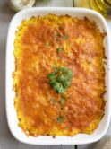 Cuban Style Imperial Rice With Chicken, Ham, and Cheese